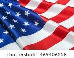 American Flag Close Up...