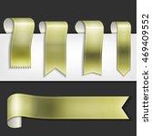 vector ribbons set | Shutterstock .eps vector #469409552