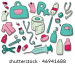 medical icons   vector | Shutterstock .eps vector #46941688