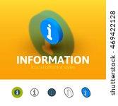 information color icon  vector...