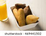 mixed brazilian snack. | Shutterstock . vector #469441502