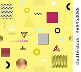 trendy geometric elements... | Shutterstock .eps vector #469453088