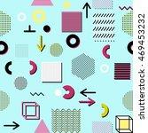 trendy geometric elements... | Shutterstock .eps vector #469453232