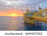oil and gas business in... | Shutterstock . vector #469457432