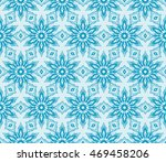 abstract flowers. blue.... | Shutterstock .eps vector #469458206