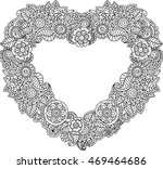 vector coloring page for... | Shutterstock .eps vector #469464686