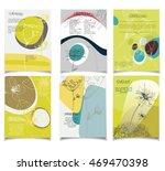 summer vector template set.... | Shutterstock .eps vector #469470398
