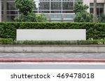 Large Blank Billboard On A...