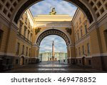 Winter Palace Square In St....
