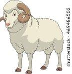adult funny ram | Shutterstock .eps vector #469486502