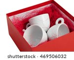 Set Three Plain White Porcelai...