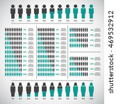 people percentage infographic... | Shutterstock .eps vector #469532912