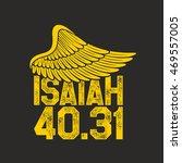 bible lettering. christian art. ... | Shutterstock .eps vector #469557005
