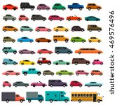 car types big vector set | Shutterstock .eps vector #469576496