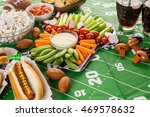 appetizers on the table for the ...   Shutterstock . vector #469578632