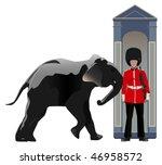 Buckingham Guard Pushed By...