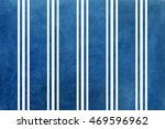 watercolor dark blue striped... | Shutterstock . vector #469596962