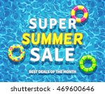 Vector Summer Sale Background...