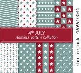Set. Vector. Seamless Fabric....