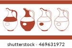 different pitchers | Shutterstock .eps vector #469631972