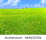 meadow and sky during sunny day   Shutterstock . vector #469632536