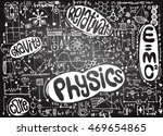 physical formulas and... | Shutterstock .eps vector #469654865