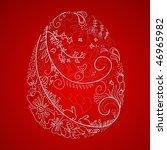 stylized easter egg   Shutterstock .eps vector #46965982