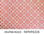 vintage style floor tile...   Shutterstock . vector #469696226