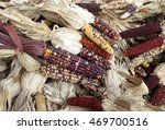 Colorful Dried Corn Bunch For...