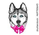 hand drawn vector illustration... | Shutterstock .eps vector #469700645