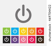 start icon  power button  ...   Shutterstock .eps vector #469704422