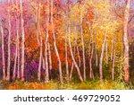 oil painting landscape  ... | Shutterstock . vector #469729052