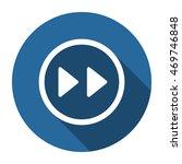 rewind icon  vector  icon flat