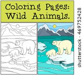 coloring pages  wild animals.... | Shutterstock .eps vector #469752428