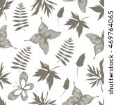 seamless pattern with hand...   Shutterstock .eps vector #469764065