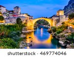Mostar  Bosnia And Herzegovina...