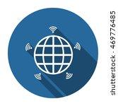wifi icon  vector  icon flat