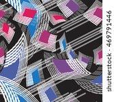 vector seamless pattern. modern ...   Shutterstock .eps vector #469791446