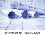 architectural and construction... | Shutterstock . vector #469803206