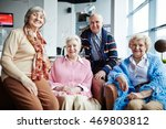 group of seniors | Shutterstock . vector #469803812