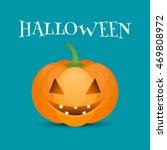 halloween pumpkin jack o lantern | Shutterstock .eps vector #469808972