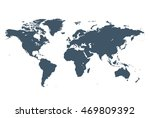 map of world | Shutterstock .eps vector #469809392