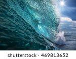 beautiful ocean background big...   Shutterstock . vector #469813652