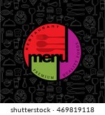 restaurant menu card design...   Shutterstock .eps vector #469819118