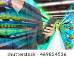 digital revolution in retail... | Shutterstock . vector #469824536
