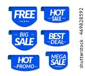 sale tags labels. special offer ... | Shutterstock .eps vector #469828592