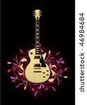 electric guitar with design... | Shutterstock .eps vector #46984684