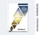 abstract vector triangle design ... | Shutterstock .eps vector #469868246