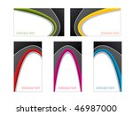 new color and black business... | Shutterstock .eps vector #46987000