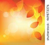 abstract autumn sunny... | Shutterstock .eps vector #469873376